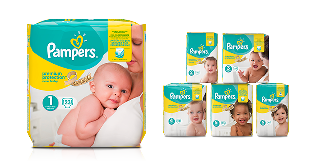 Pampers Premiumblöjor